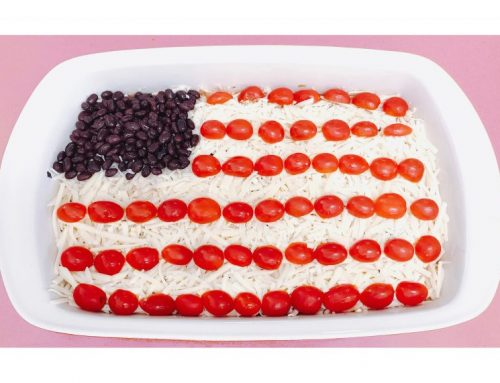 4th of July 7 layer flag dip